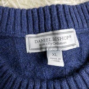 Daniel Bishop 2 Ply Cashmere Sweater Sz XL